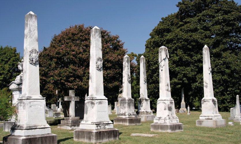 <p>Hollywood Cemetery.</p>