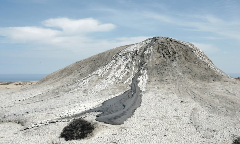 Volcans de boue.