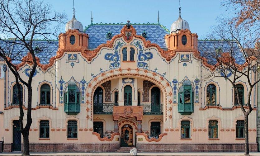 Palais Raichle à Subotica.