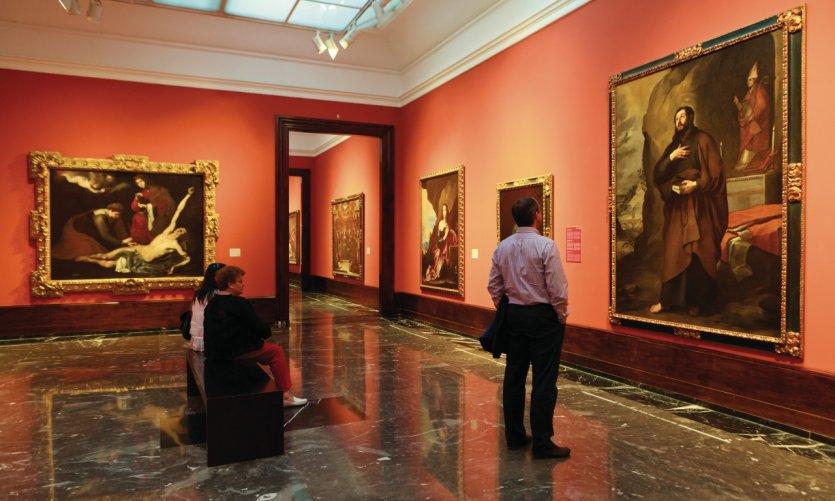 Le musée des Beaux-Arts de Bilbao.