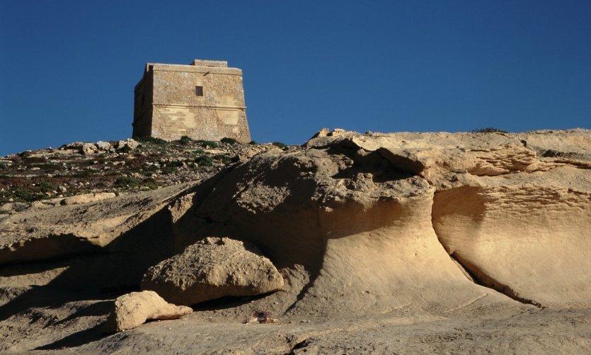 Tour fortifiée de Dwejra.