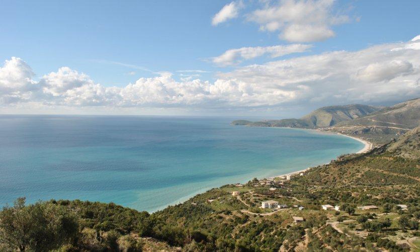 La route de la Riviera.