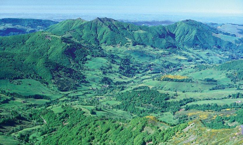 Vallée de Mandailles - Pic de l'Elan