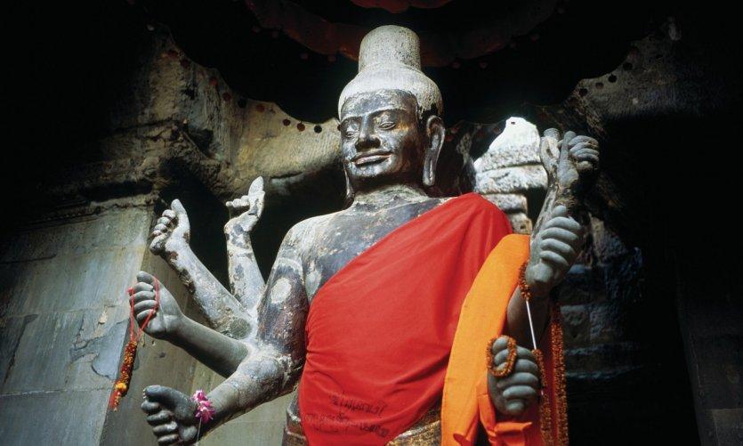 Estatua de Shiva.