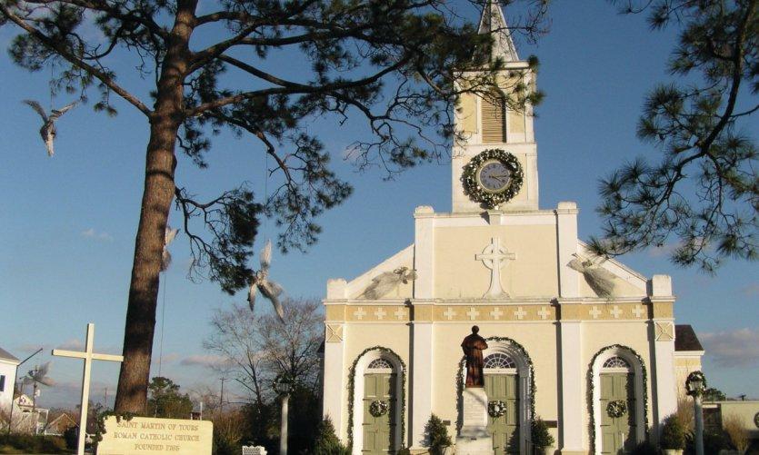 Église Saint-Martin-de-Tours.