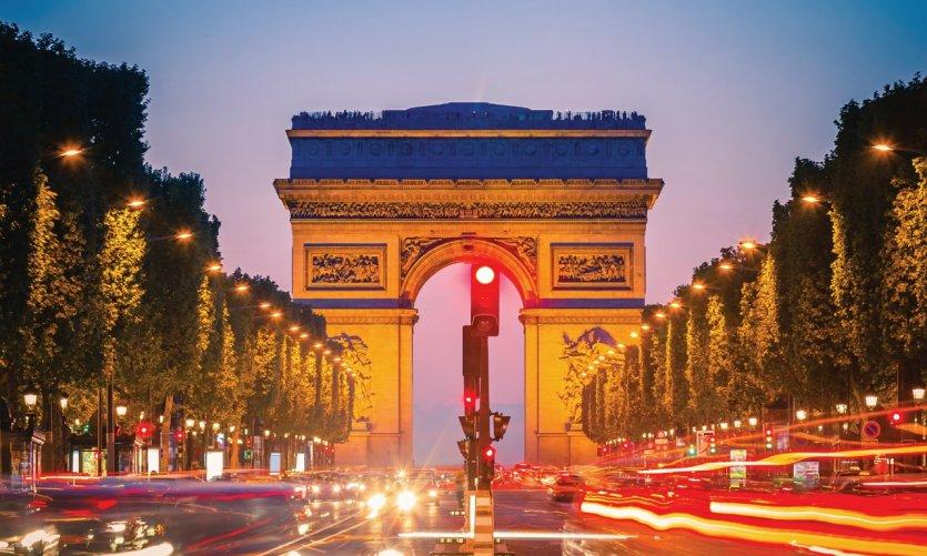 Avenue des Champs-Élysées.