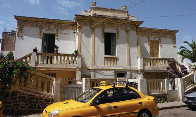 <p>Une des nombreuses villas italiennes que compte la capitale érythréenne.</p>