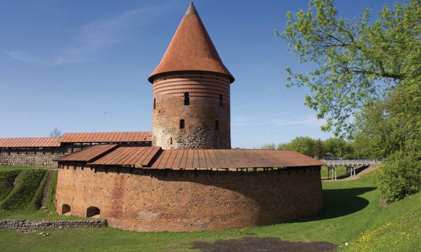 <p>Castillo de Kaunas.</p>