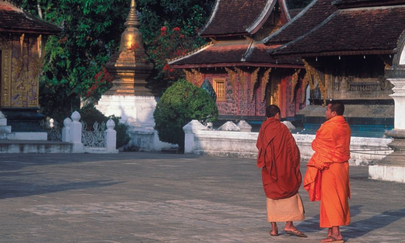 Wat Xieng Thong, the monastery of the golden city.