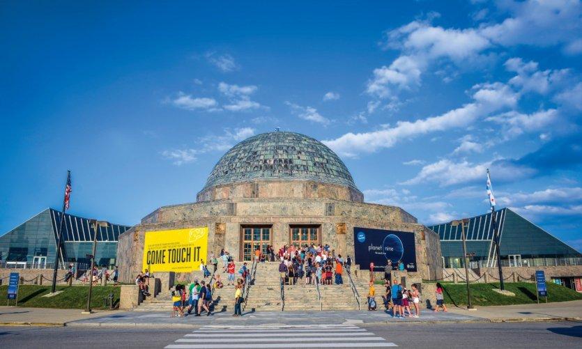 Adler Planetarium.