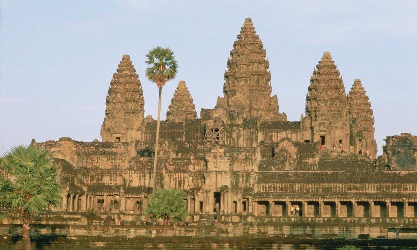Temple d'Angkor Wat.