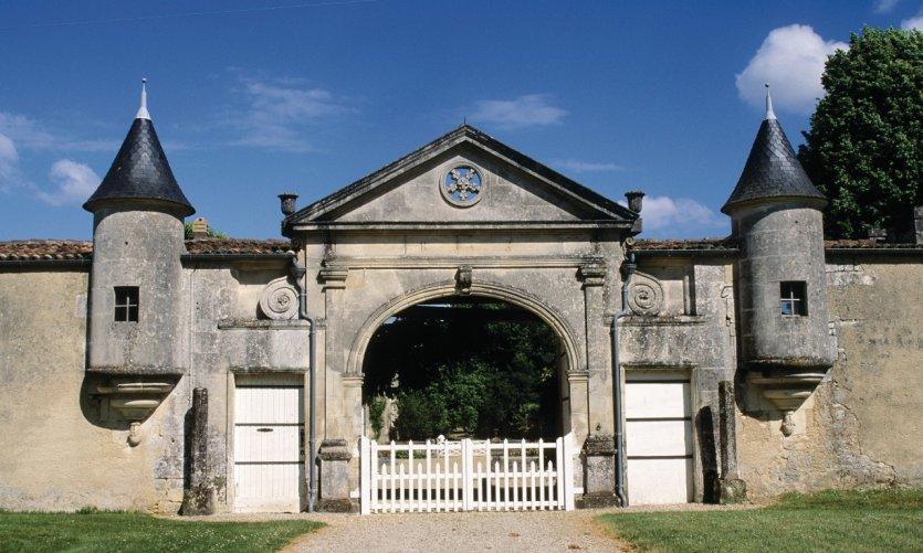 Porte d'entrée - Domaine viticole dans le vignoble de Cognac