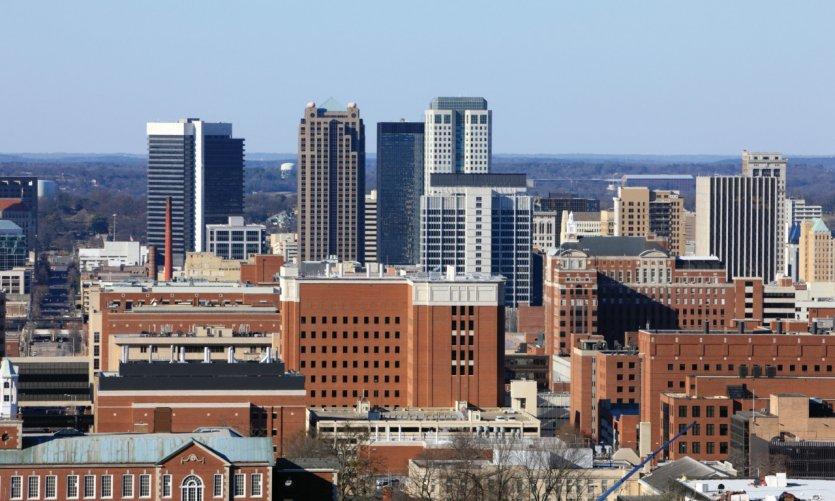 Ciudad de Birmingham.