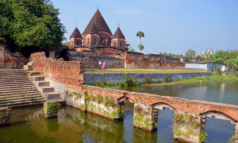 Le temple de Govinda.