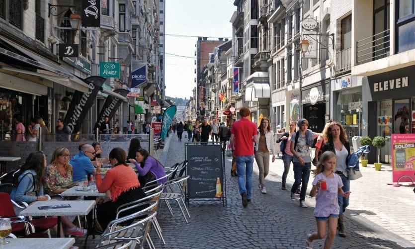 Rue Pont d'Avroy.