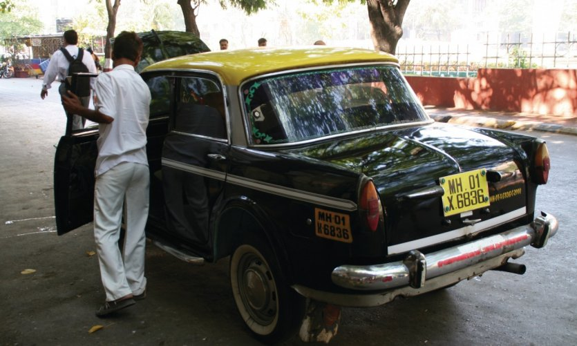 Taxi de Bombay.