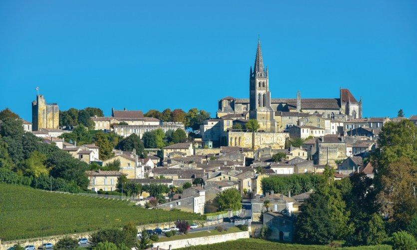 Le village de Saint-Emilion.