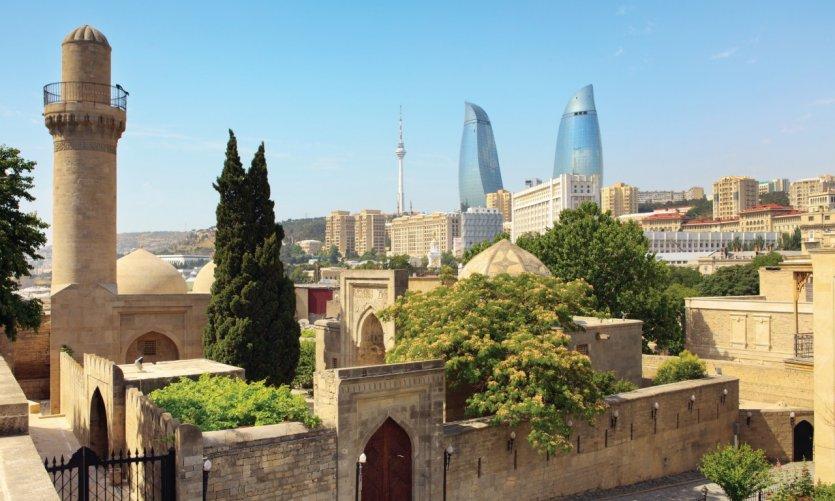 Palais des Shahs Shirvan, Bakou.