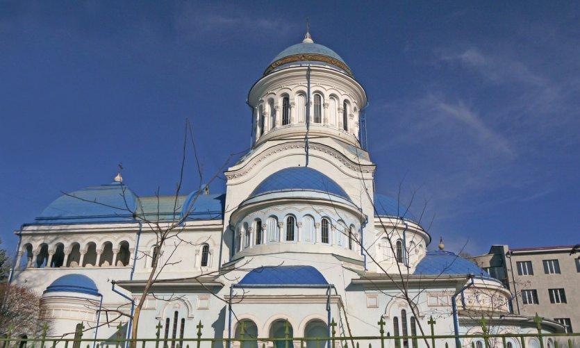 Cathédrale Constantin şi Elena à Balţi.