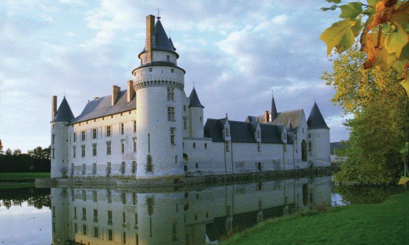 Le château du Plessis-Bourré et ses douves