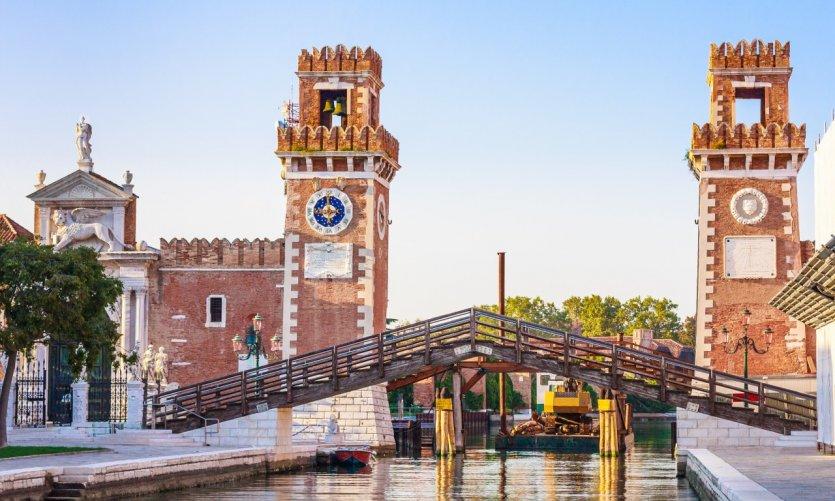L'arsenal de Venise.