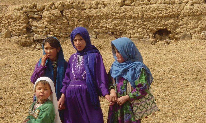 Fillettes du Hazarajat.