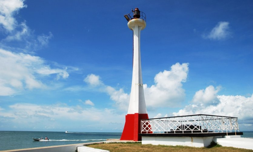 <p>Phare of Belize City.</p>