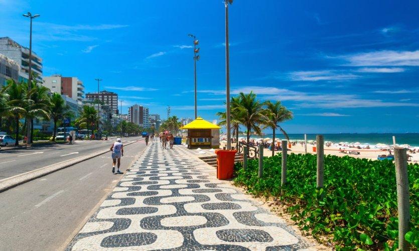 La plage d'Ipanema.