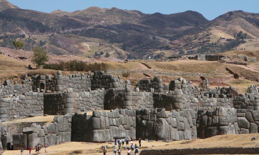 Temple inca de Sacsayhuamán.