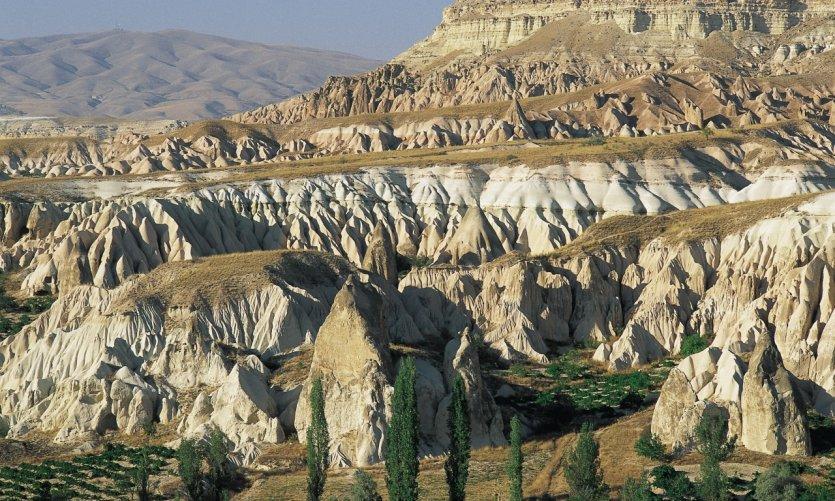 Paysage des environs de Göreme.