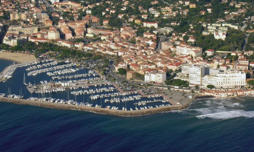Le port de Sainte-Maxime