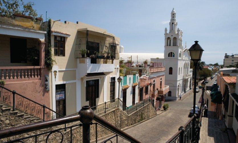 Calle Hostos dans la zone coloniale.
