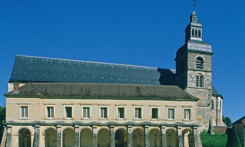 Abbaye où le frère Dom Perignon inventa le champagne