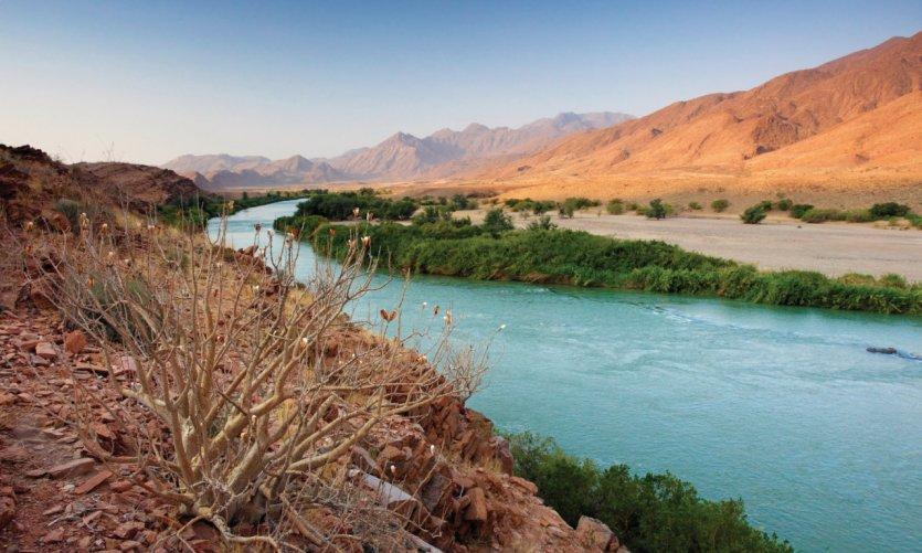 Rivière Kunene.