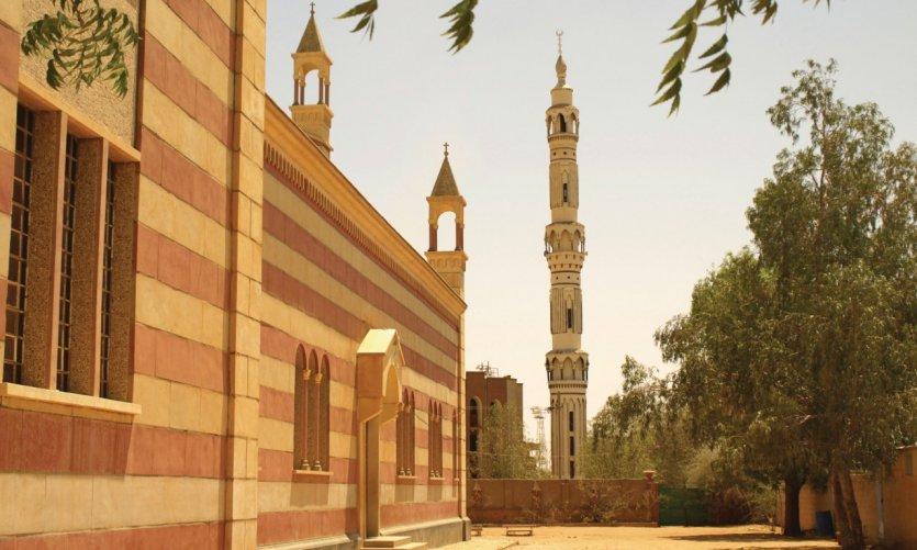 Cathédrale catholique d'El-Obeid.