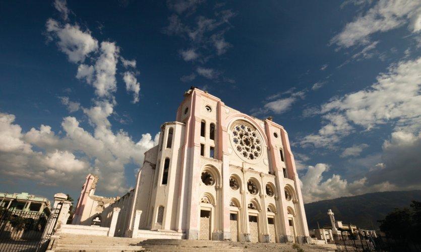 Cathédrale de Port-au-Prince.