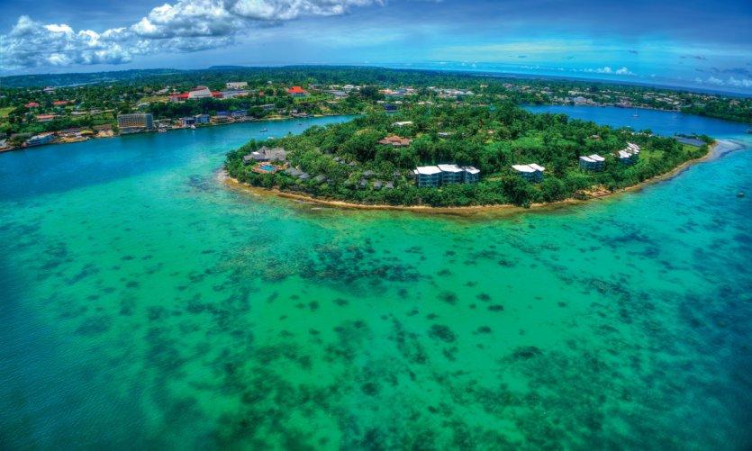 La baie de Port-Vila.