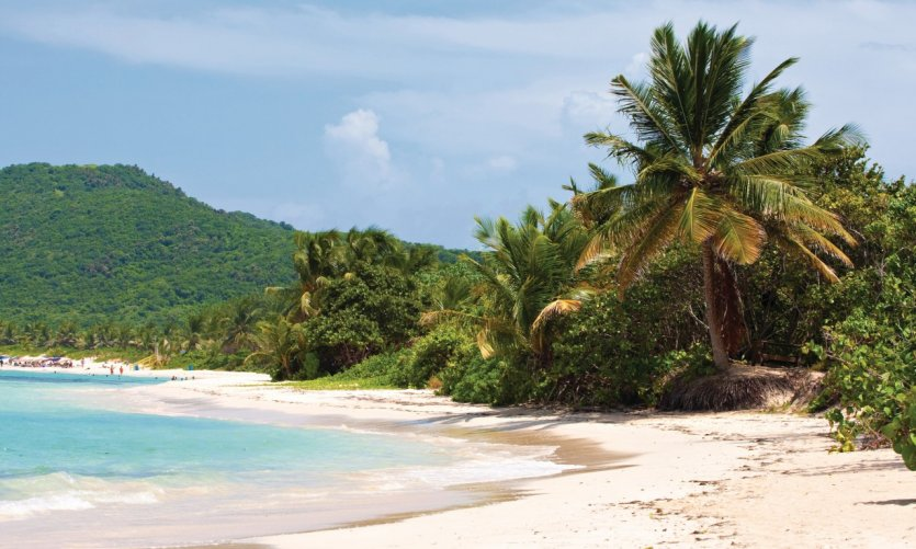 Playa Flamenco.