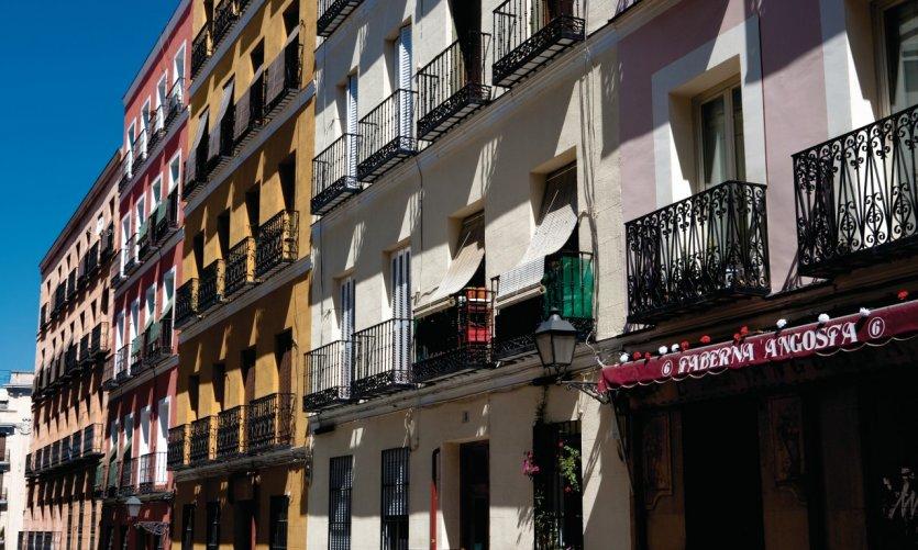 Quartier de Lavapiés.