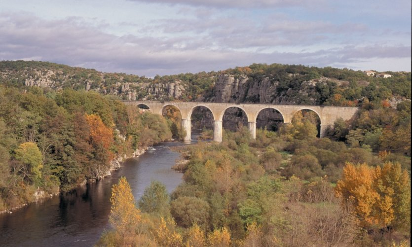 Pont sur l'Ardèche