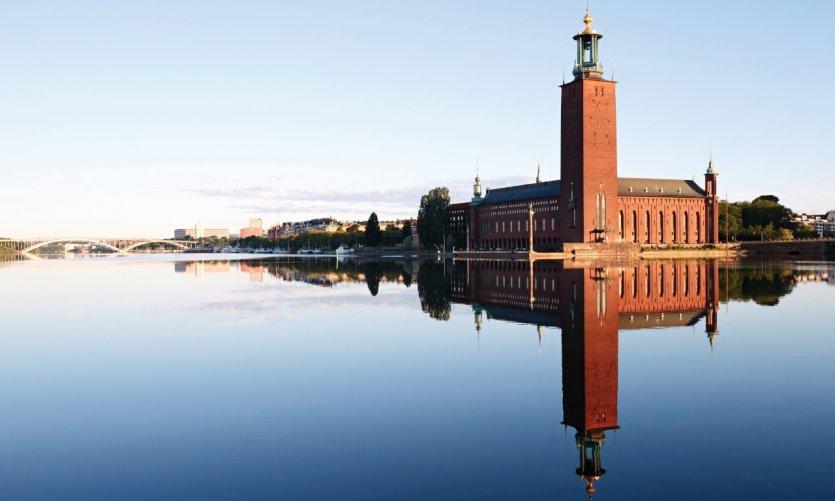 Hôtel de ville de Stockholm.