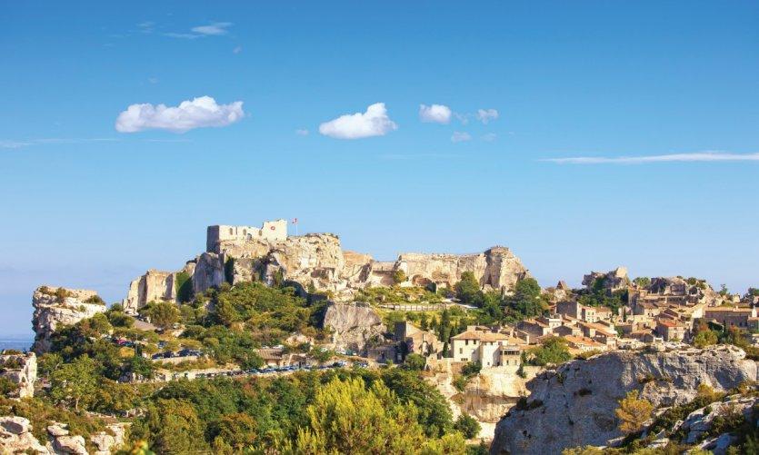 Village des Baux-de-Provence.