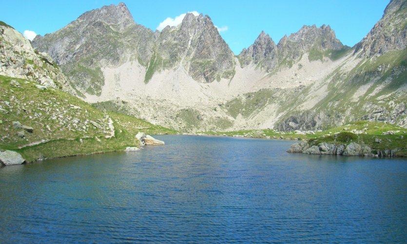 Lac long, dans le Val d'Azun