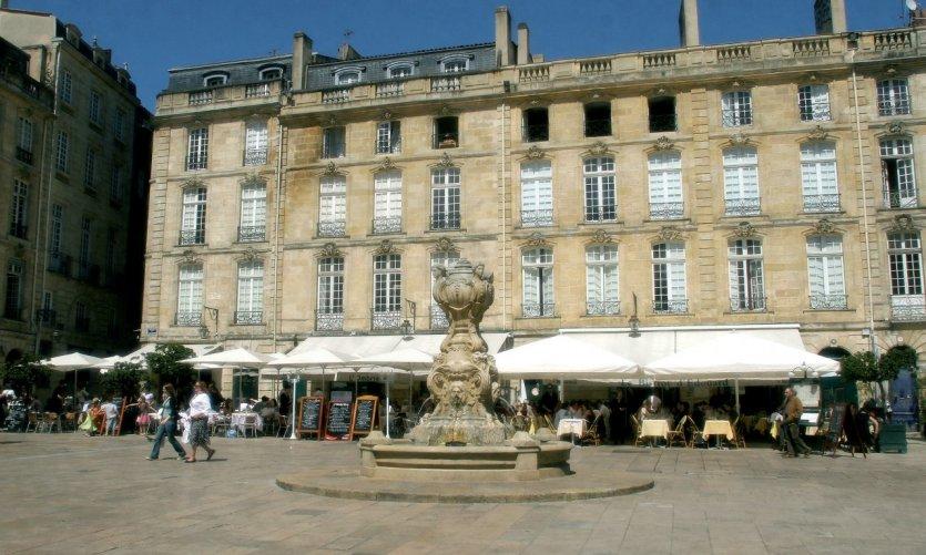 La place du Parlement - Bordeaux