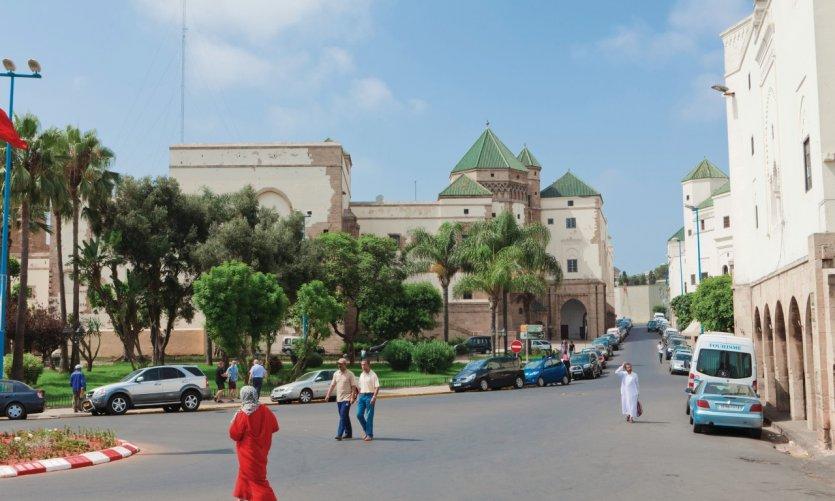 Mahakma del Pacha situado en el barrio de los Habous.