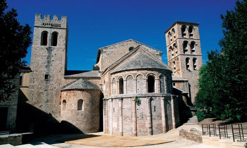 L'abbaye de Caunes-Minervois