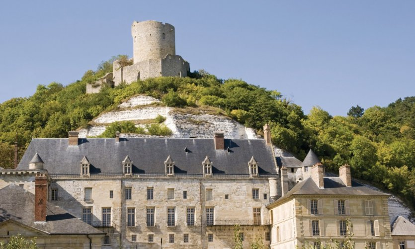 Le château de La Roche-Guyon