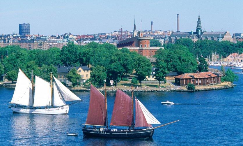 Bateaux à Stockholm.