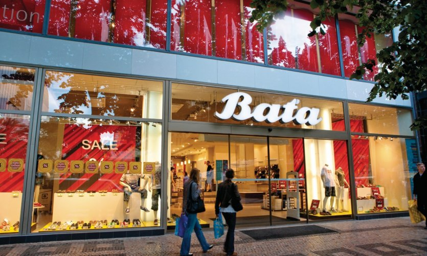 Václavské náměstí (Place Venceslas), magasin Bata.