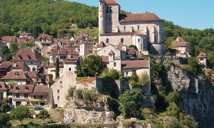 Eglise de Saint-Cirq-Lapopie